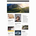عکس طراحی سایت مجله خبری ریسپانسیو