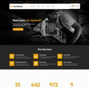 طراحی سایت مکانیکی