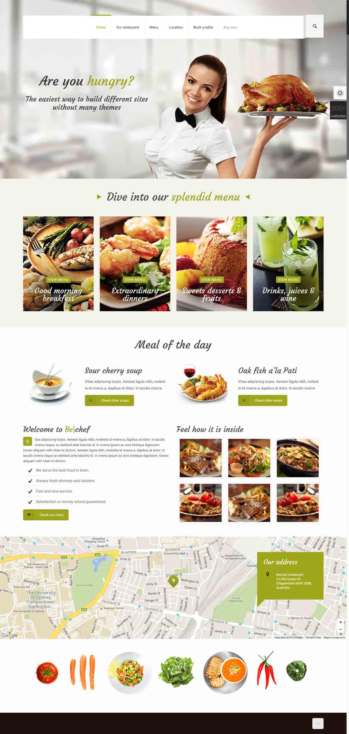 خرید وب سایت رستورانی
