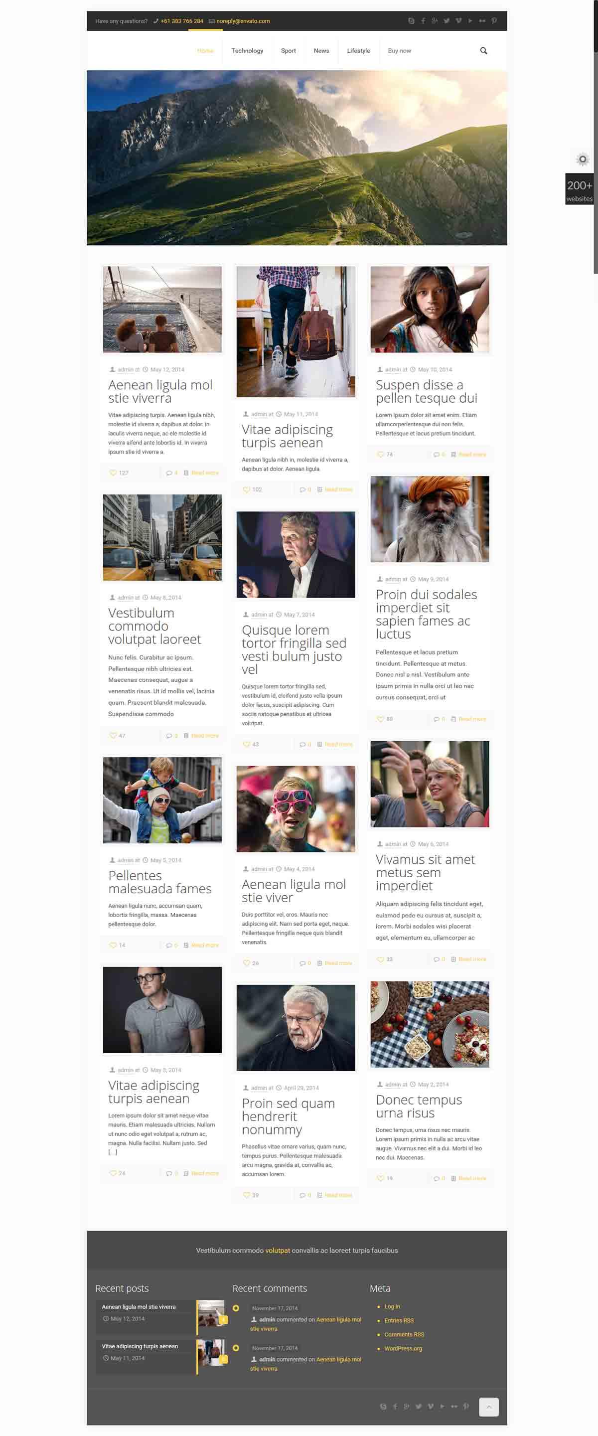 وب سایت مجله خبری