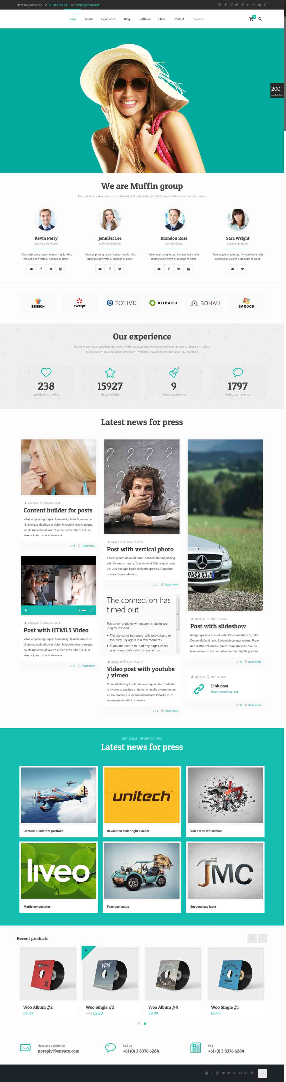 طراحی وب سایت وان پیج
