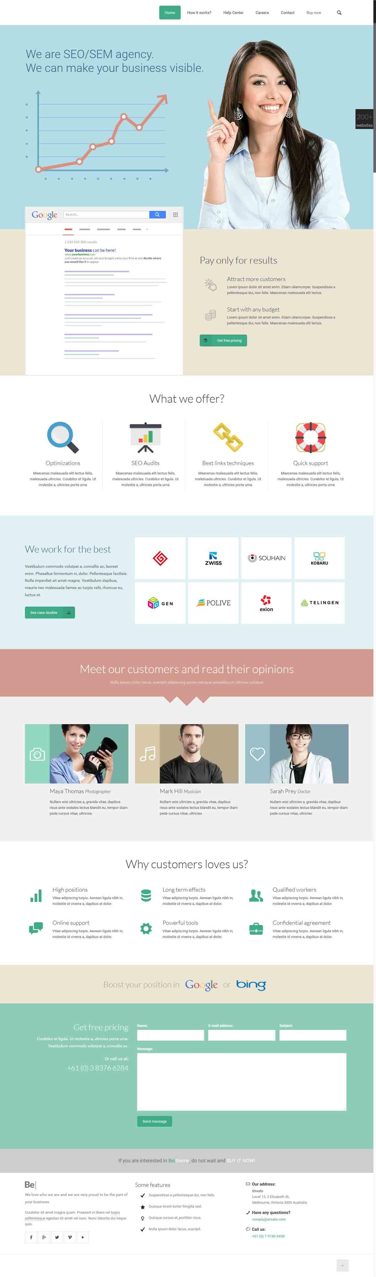 طراحی وب سایت سئو