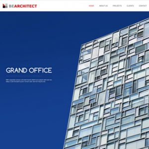 طراحی سایت معماری ارزان