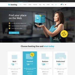 طراحی سایت هاستینگ
