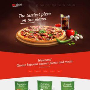طراحی سایت پیتزایی حرفه ای