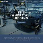 عکس طراحی سایت کارخانه تولیدی