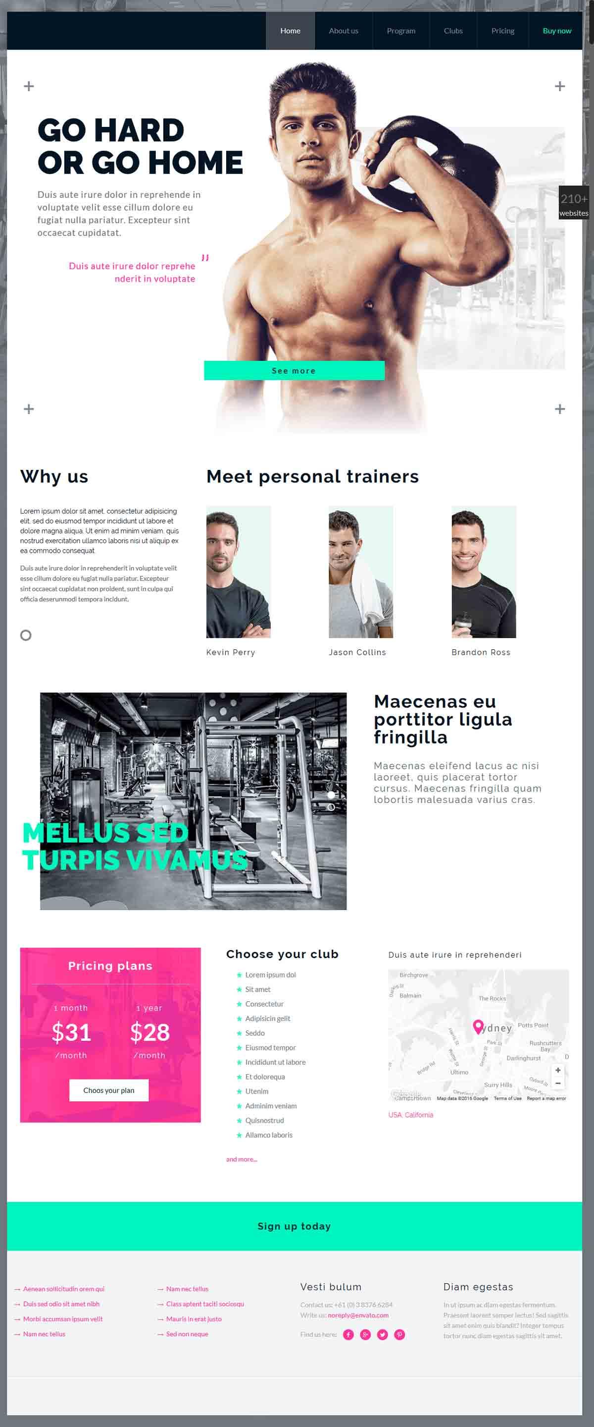 طراحی وب سایت بدنسازی ارزان