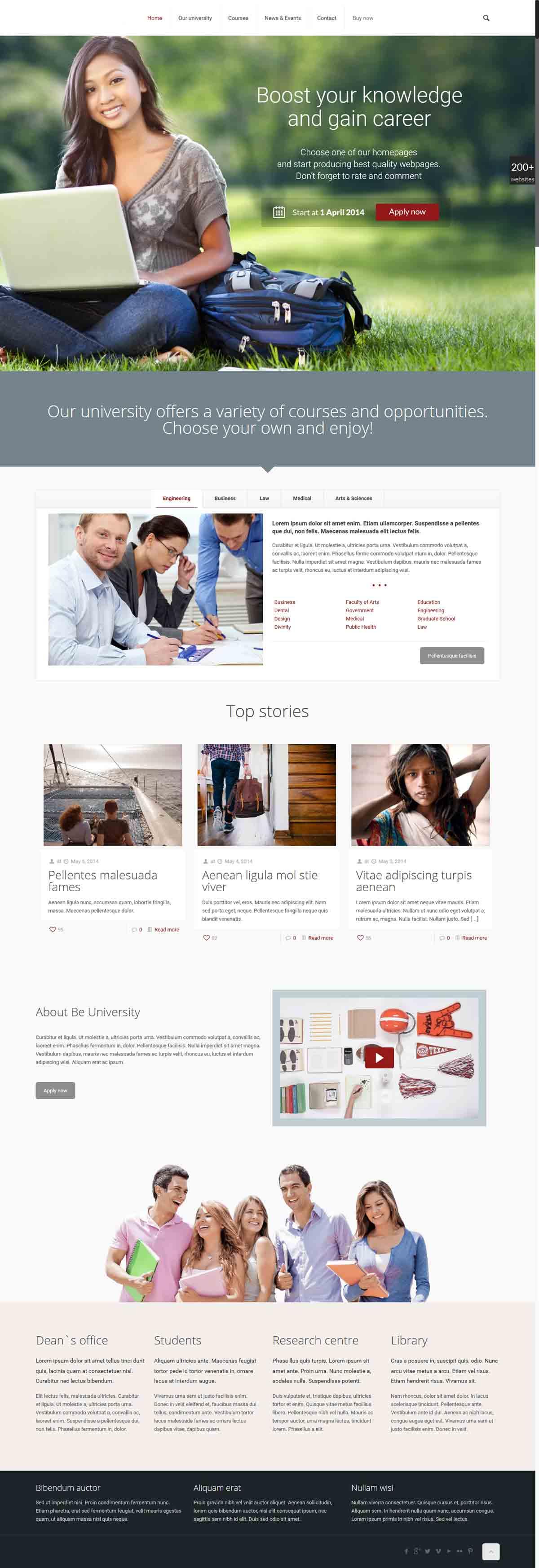 طراحی وب سایت دانشگاهی ارزان