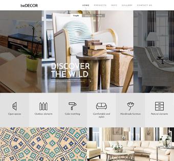 طراحی سایت دکوراسیون ارزان