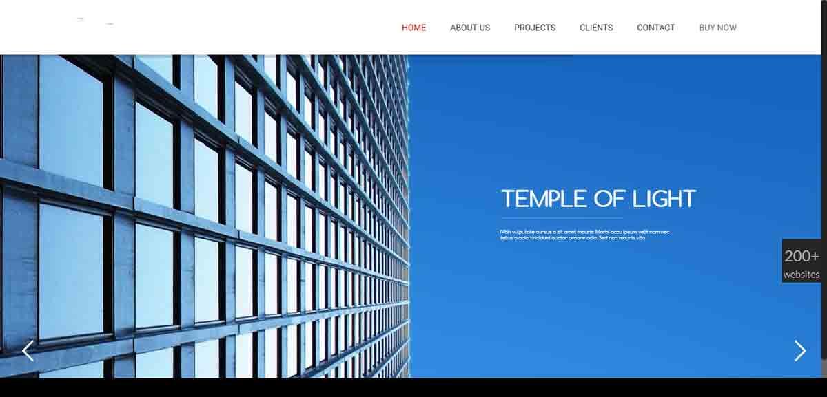 طراحی وب سایت معماری ارزان